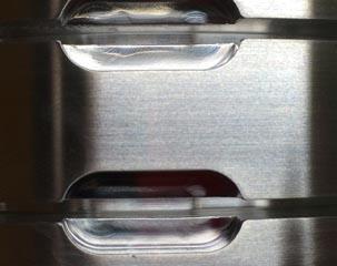 アルミ材凹部へのクロムめっき付きまわり改善