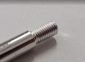 硬度が高い銀めっきの品質安定化